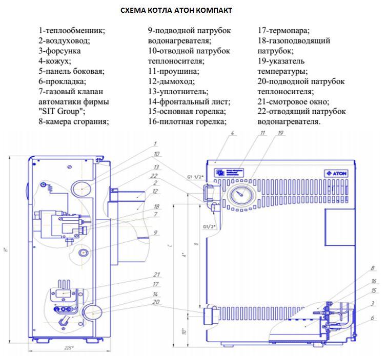 Парапетный газовый отопительный котел: требования по установке, отзывы владельцев