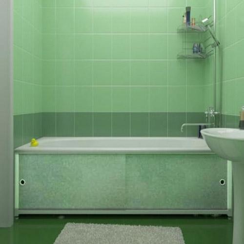 Раздвижной экран под ванну: фото, видео, разновидности как выбрать