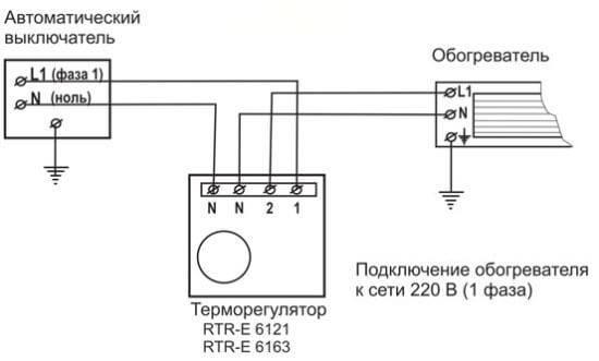 Подключение терморегулятора к инфракрасному обогревателю: правила и особенности, необходимые материалы