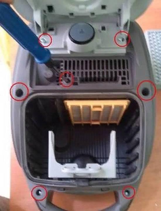 Как разобрать пылесос самсунг и починить его?