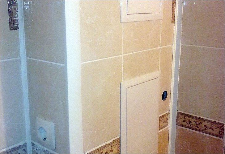 Как спрятать трубы в ванной: идеи и способы