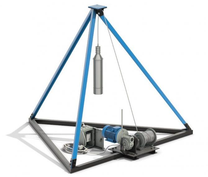 Технология ударно-канатного бурения скважин