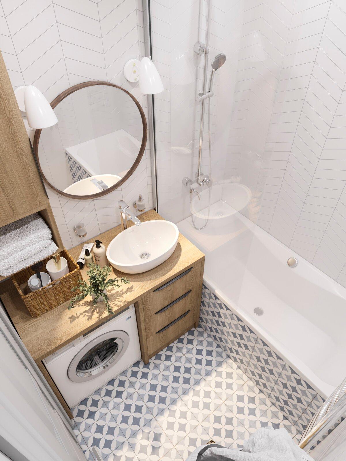 Секреты обустройства маленькой ванной: лучшие идеи 2019