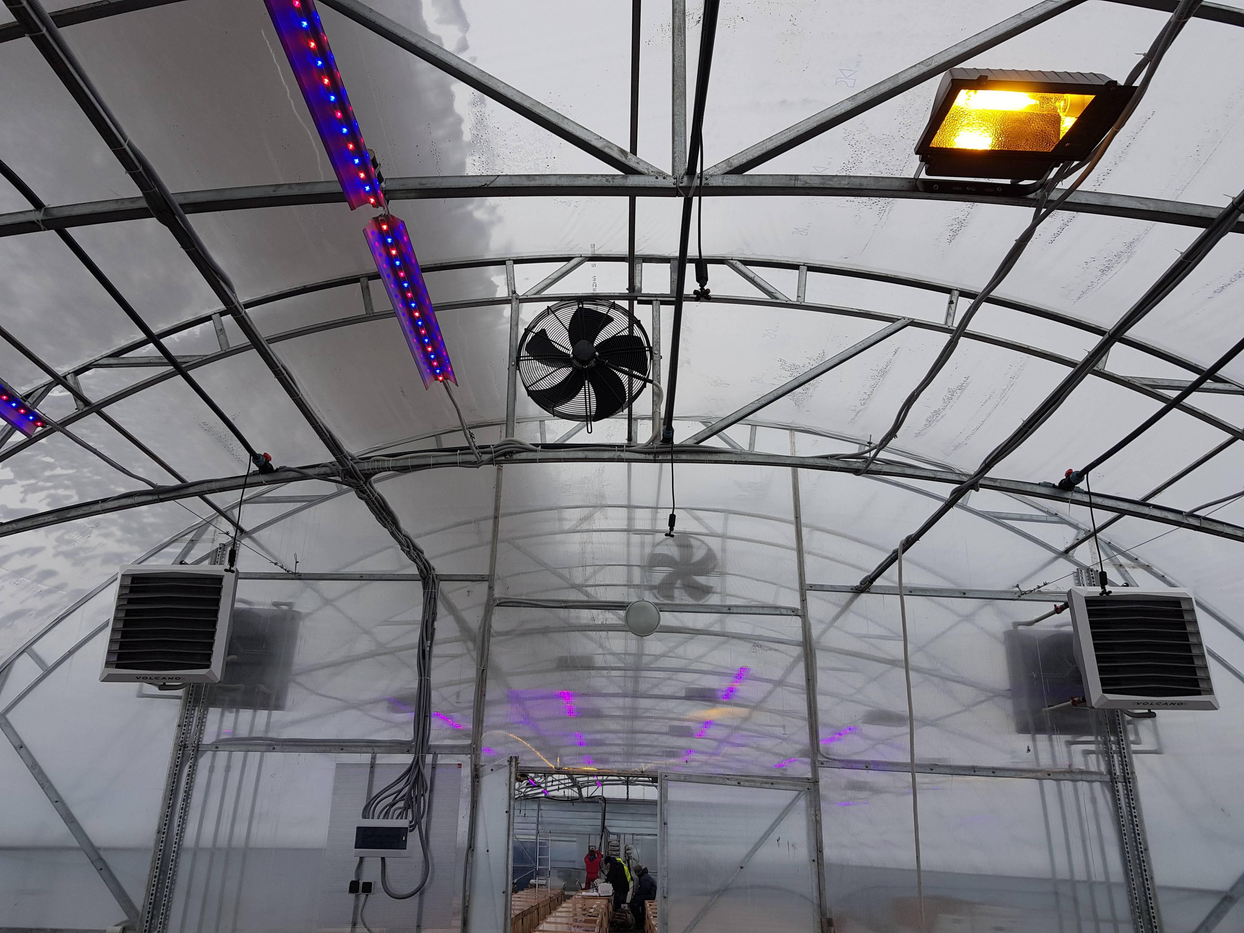 Отопление для зимней теплицы из поликарбоната