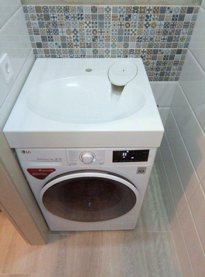 Нюансы установки раковины над стиральной машиной: пошаговый пример проведения работ
