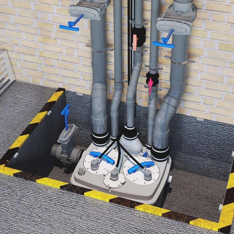Кнс - канализационная насосная станция: виды, устройство, монтаж