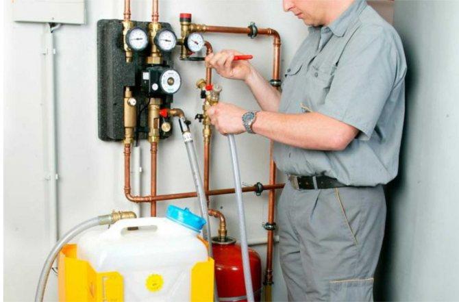 Гидропневматическая  промывка систем отопления, инструкция   отопление дома и квартиры