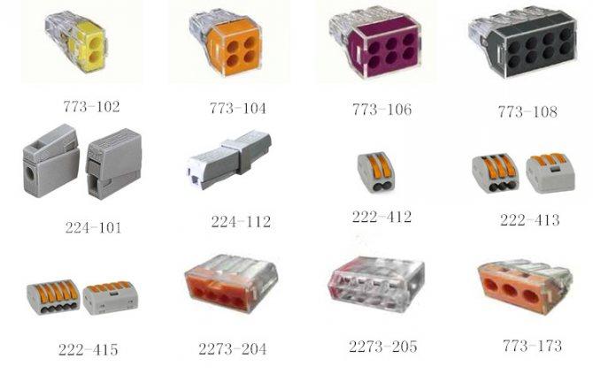 Клеммы для соединения проводов - назначение, разновидности и особенности применения (155 фото)