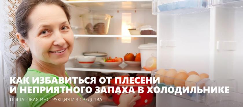 Как избавиться от неприятного запаха в холодильнике раз и навсегда