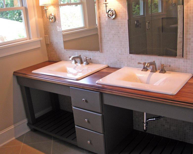 6 советов по выбору столешницы для ванной комнаты | строительный блог вити петрова