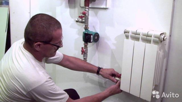 Замена радиаторов отопления в квартире цена в москве — установка радиаторов отопления