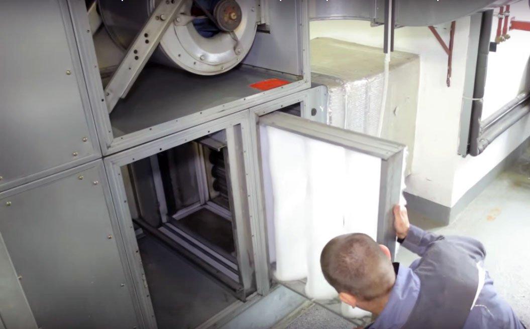Ремонт систем вентиляции: неисправности и восстановление работы - точка j
