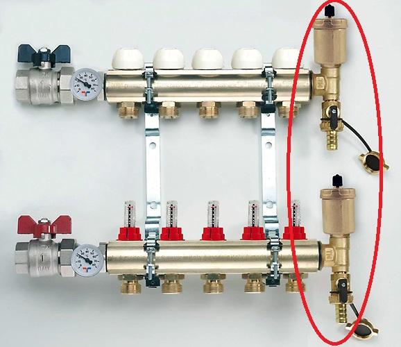 Использование коллекторного узла в системе теплого пола