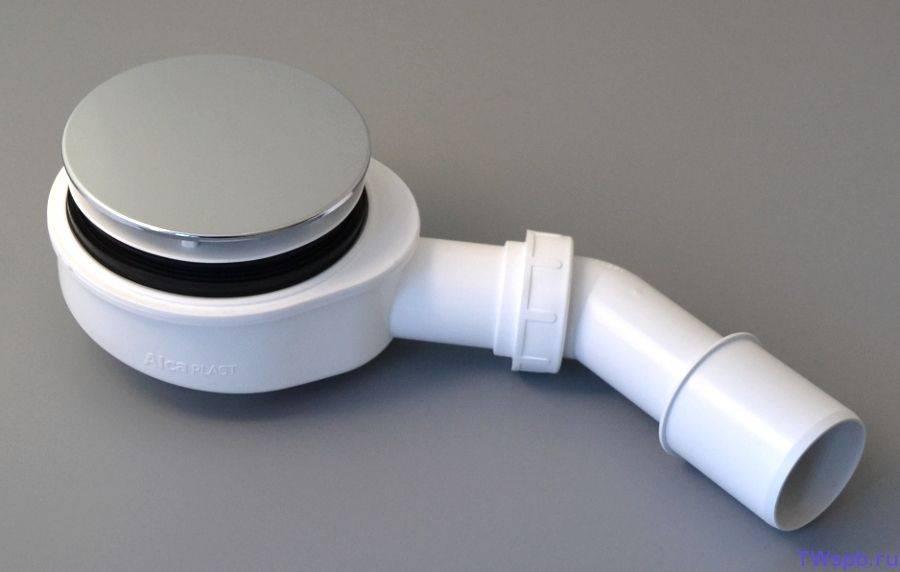 Сифон для душевой кабины с низким поддоном - инструкция по монтажу!