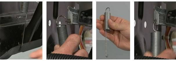 Ремонт или замена амортизатора стиральной машины