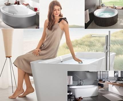 Квариловые ванны: описание и отзывы покупателей