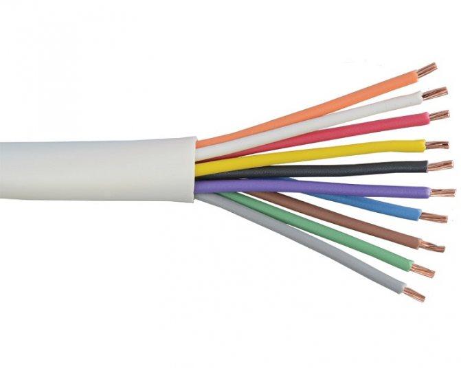 Цветовая маркировка проводов и кабелей при монтаже гост пэу