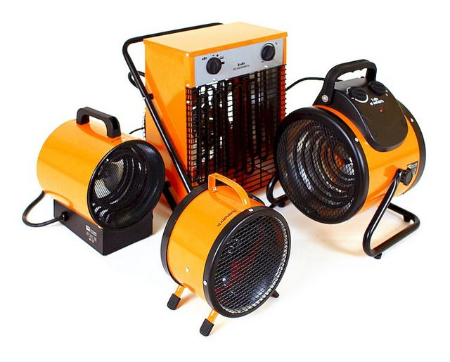 Электрическая тепловая пушка: виды, как выбрать, обзор лучших производителей