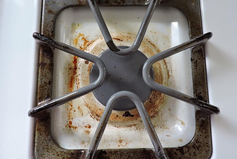 Как отмыть решетку на плите от нагара и жира в домашних условиях