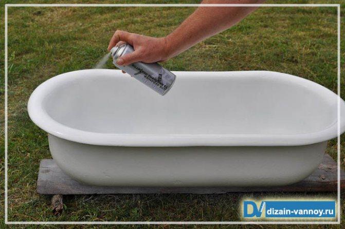 Чем лучше реставрировать ванну - эмалью или акрилом: плюсы и минусы методов, сравнение перед выбором | в мире краски
