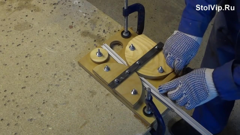 Как согнуть профильную трубу своими руками без специальных приспособлений
