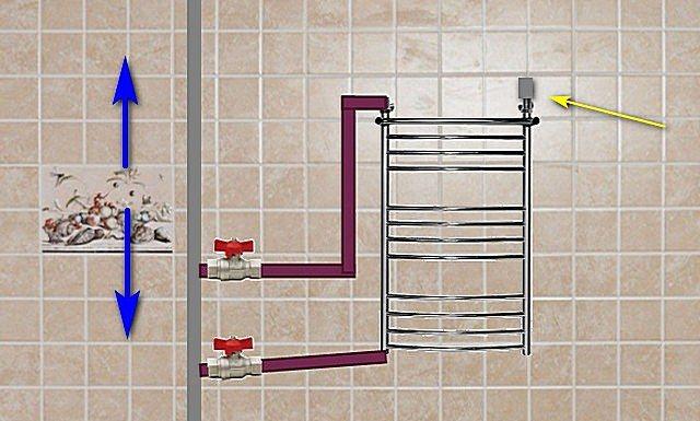 Почему не работает полотенцесушитель в ванной, что делать
