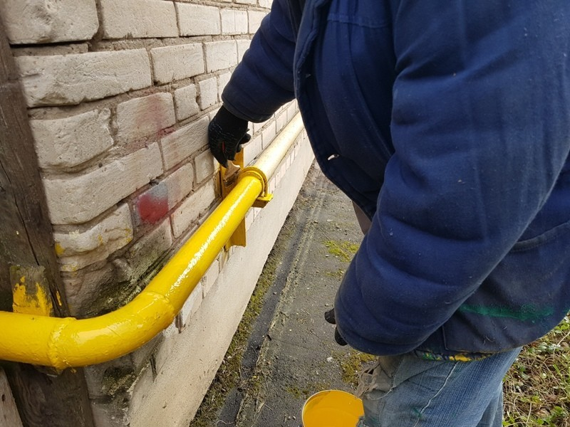 Покраска газопровода правила и нормы - юрист
