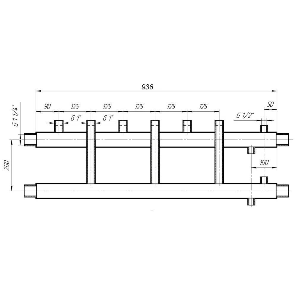 Коллектор отопления распределительный в системе: шкаф и гребенка своими руками
