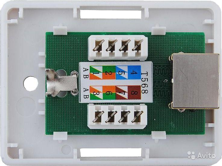 Розетка rj-45: правила подключения и монтажа компьютерной розетки. маркировка проводов и минимизация потерь передачи данных + 90 фото лучших моделей