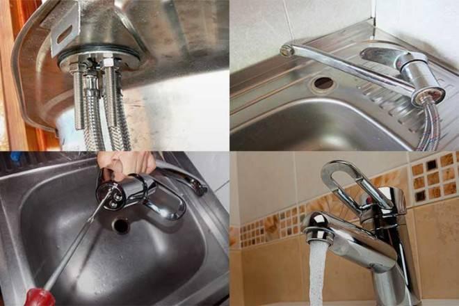 Как поменять смеситель на кухне самостоятельно?