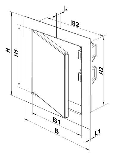 Ревизионные сантехнические люки и двери которыми можно закрыть шкаф в туалете