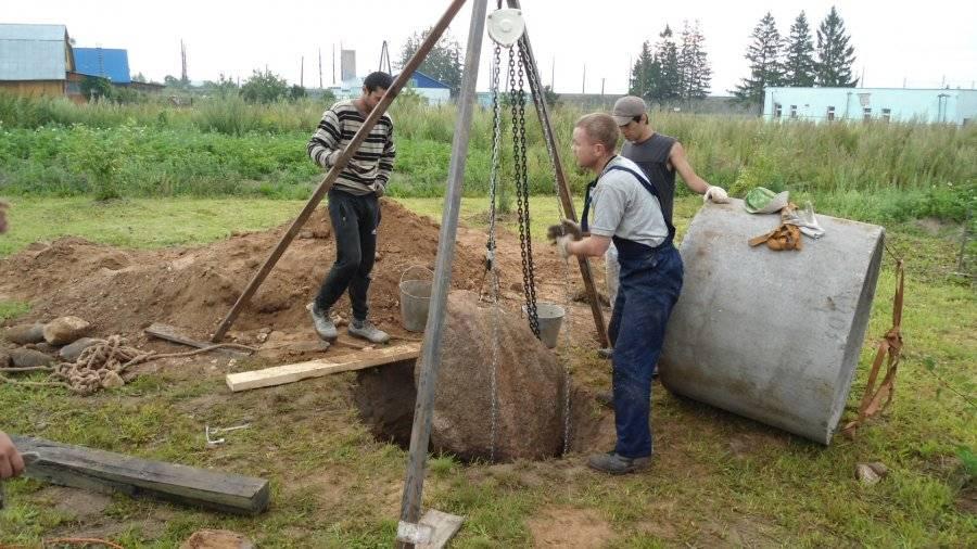 Как выкопать колодец своими руками подробное описание + фото и видео