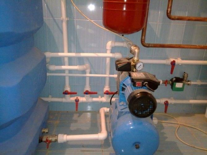 Давление воды в водопроводе частного дома.