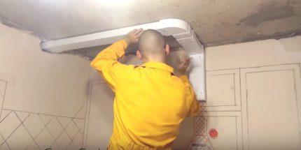 Вентиляция для натяжных потолков: виды и особенности