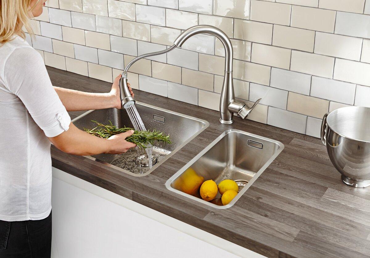 Как выбрать смеситель для кухни: характеристики и производители