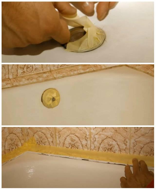 Реставрация чугунной ванны: выбор краски для эмали, восстановление и ремонт покрытия, как обновить домашних условиях - все способы