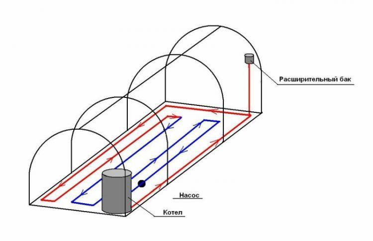 Особенности обустройства отопления теплиц из поликарбоната
