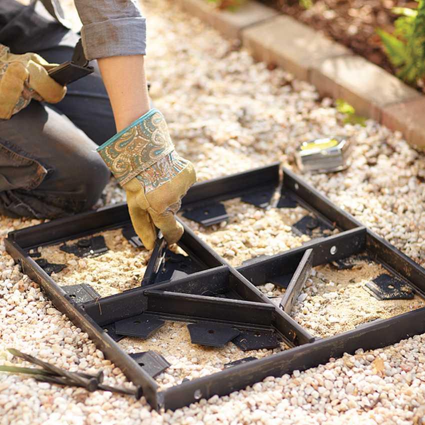 Изготавливаем различные формы для тротуарной плитки своими руками