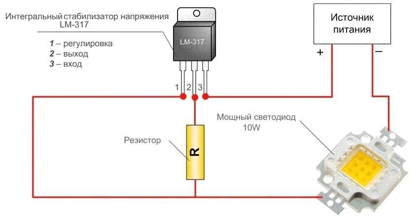 Виды и характеристики драйверов для светодиодных источников света