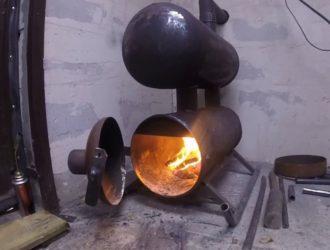 Печь для гаража на солярке своими руками и популярные заводские модели