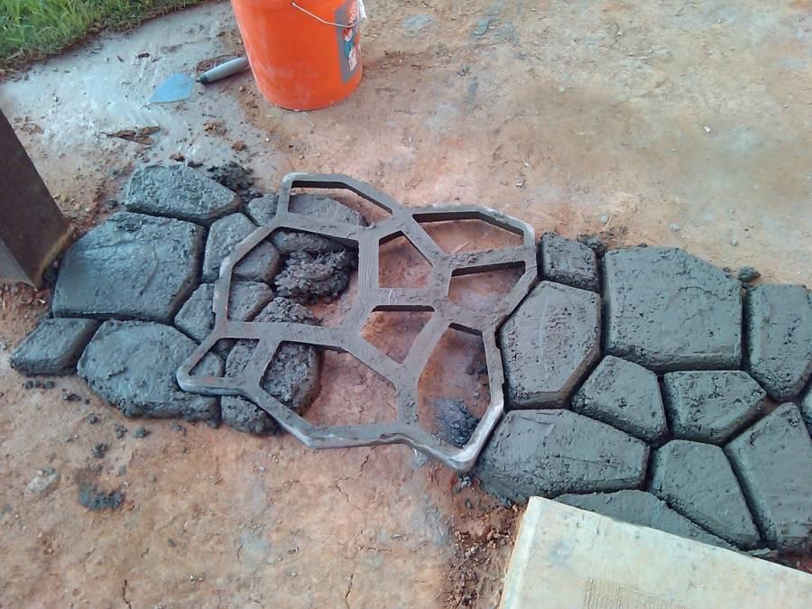 Формы для тротуарной плитки своими руками. этапы изготовления