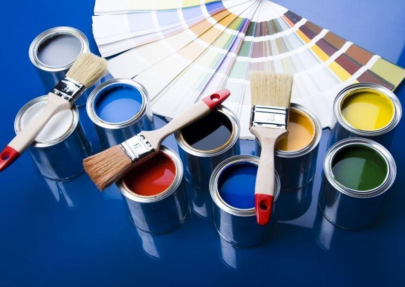 Краски которые можно использовать для покрытия кирпичной печи