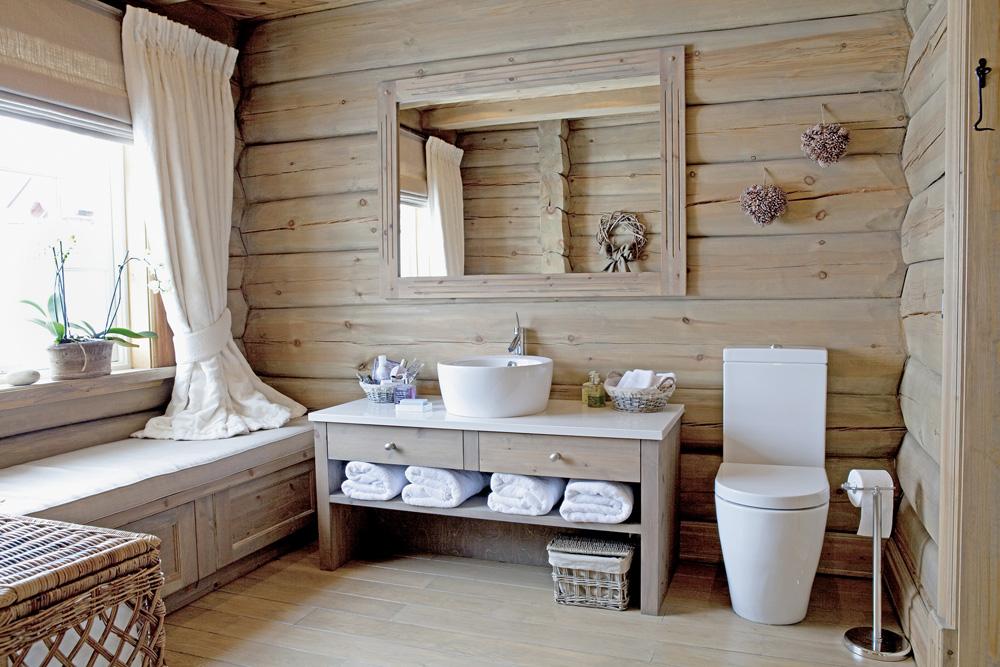 Чем отделать ванную комнату в деревянном доме своими руками: гидроизоляция и отделка (фото)