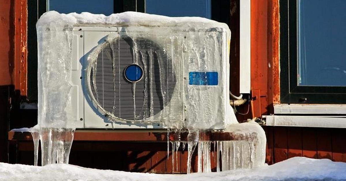 Можно ли включать кондиционер зимой на обогрев
