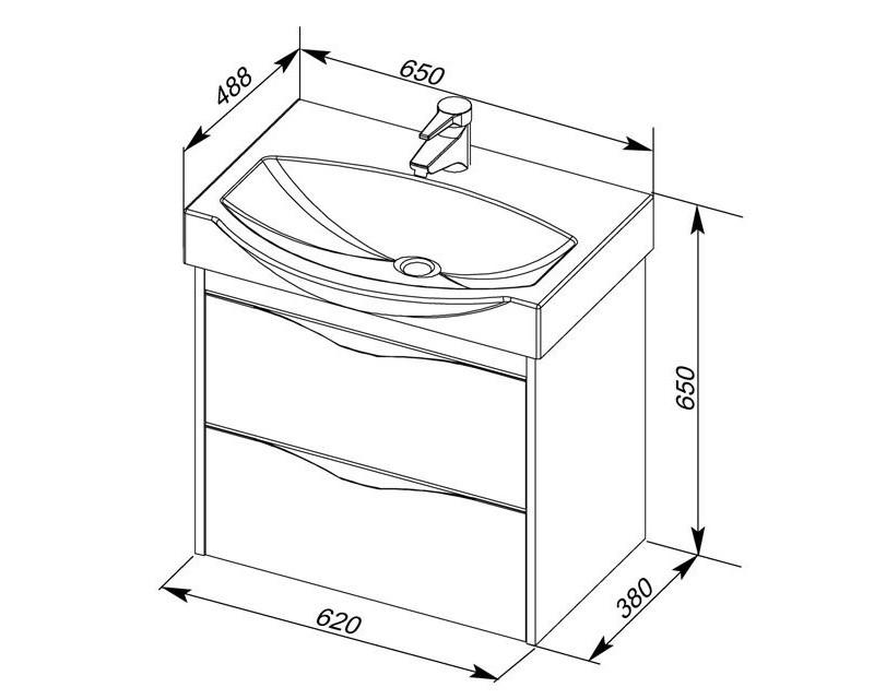 Как определить размеры раковины для ванной комнаты и не напортачить при ремонте