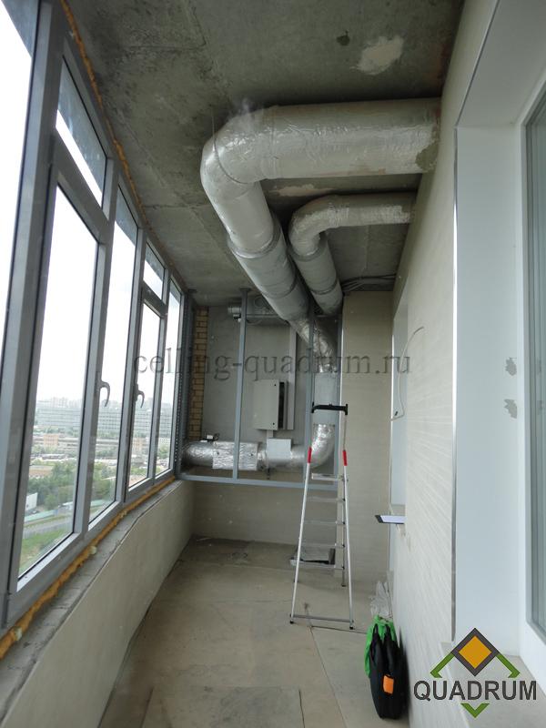 Вентиляция на балконе и лоджии