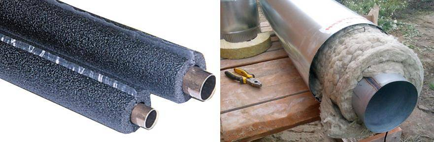 Утепление канализационных труб в земле своими руками: утеплитель для теплоизоляции труб канализации, чем утеплять на улице и как