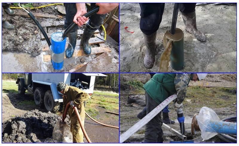 Промывка скважины после бурения: лучшие методы провести работы своими руками