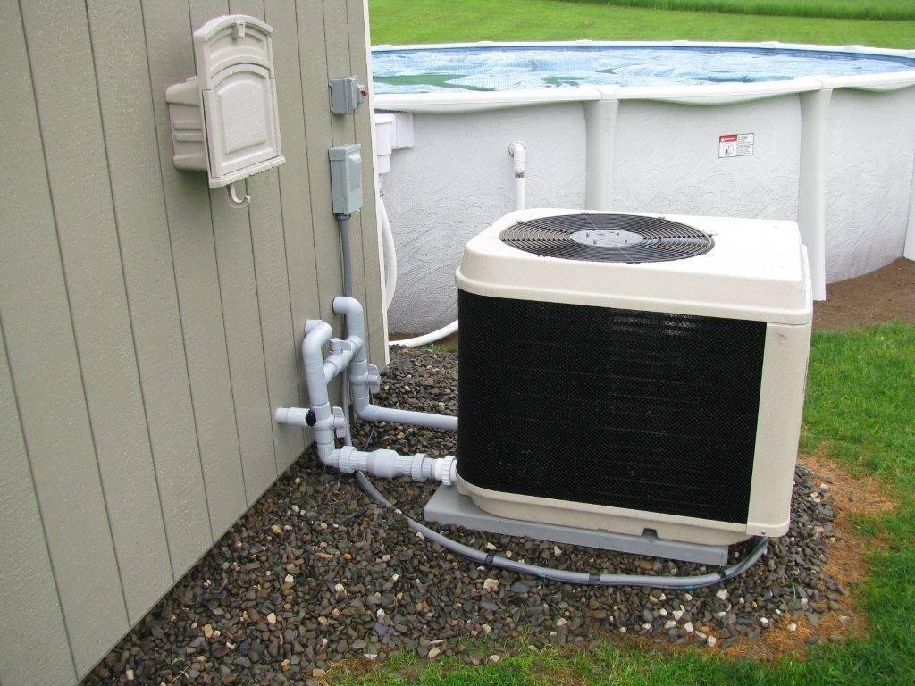 Тепловой насос для бассейна: как выбрать, устройство, установка - точка j