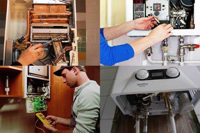 Сервисное обслуживание котельных и систем отопления